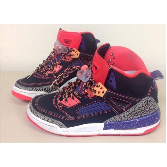 sale retailer 05f1f 023ab Jordan Other - Nike Boys Jordan Spizike Tasmanian Devil Crimson